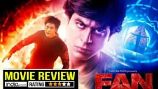 FAN Movie Review: Shah Rukh Khan shines in double role, but his best is yet to come!