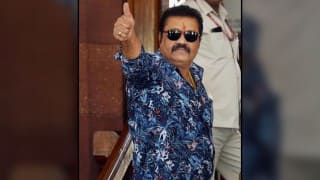 Malayalam actor Suresh Gopi makes Rajya Sabha debut in NaMo style