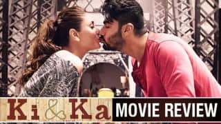 Ki and Ka movie review: Kareena Kapoor Khan and Arjun Kapoor starrer based on gender equality is not up to the mark