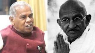 जीतनराम मांझी ने दिया विवादित बयान, महात्मा गांधी भी ताड़ी पीते थे