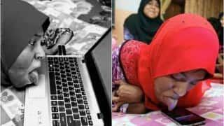 Meet Nursamawati Mahmud, who uses tongue to access her smartphone & laptop!