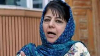 Will step down if chair becomes impediment in father's vision for Jammu and Kashmir: Mehbooba Mufti