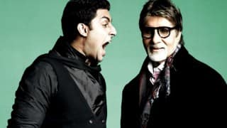 Amitabh Bachchan wants to invest in Panama for Abhishek Bachchan (Watch video!)