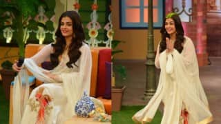 The Kapil Sharma Show: Aishwarya Rai Bachchan looks beautiful in off-white outfit!
