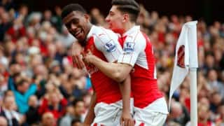 EPL 2015-16: Arsenal rout Watford 4-0 to keep title race alive