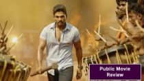 Sarrainodu public movie review: Blockbuster Allu Arjun movie! (Watch video)