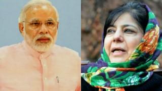 Jammu & Kashmir CM Mehbooba Mufti calls on Narendra Modi