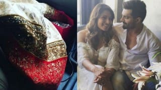 Bipasha Basu-Karan Singh Grover wedding pictures: This photo of Bipasha Basu's wedding guest's outfit will make you smile!