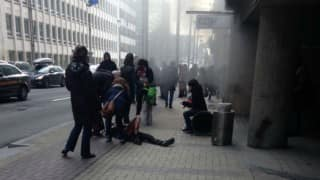 Metro station hit in Brussels attacks reopens