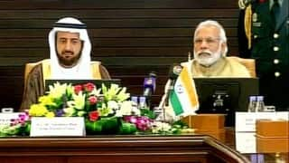 Narendra Modi hold delegation-level talks with Saudi King Salman