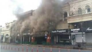 Major fire at Moti Mahal restaurant in Lucknow