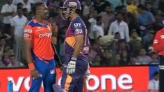 IPL 2016: MS Dhoni, Dwayne Bravo's friendly face-off is a reminder of CSK's team spirit [Watch Video]