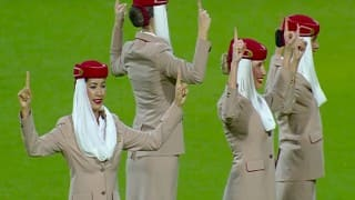 Welcome on-Board: Video of Emirates crew dancing before T20 World Cup final West Indies vs England match goes viral! (Watch here)