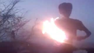 Hyderabad: 19-year-old youth dies performing fire stunt to enter reality show (Video)