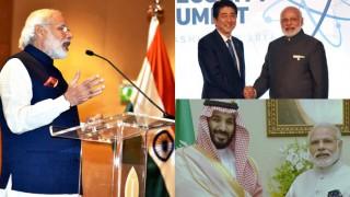 Narendra Modi's visit to Belgium, United States of America and Saudi Arabia (In Pics)