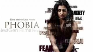 Radhika Apte's first look from Phobia revealed