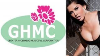Sunny Leone's nude picture appears on Hyderabad Municipal Corporation's website