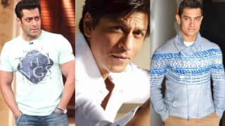OMG! Salman Khan, Shah Rukh Khan and Aamir Khan are coming together? Is it for a film?