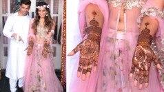 Bipasha Basu & Karan Singh Grover mehendi ceremony: Soon-to-be bride and groom pose for the shutterbugs!