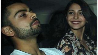 विराट और अनुष्का ने मुंबई के एक होटल में साथ में किया डिनर