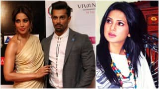 When Bipasha Basu & Karan Singh Grover bumped into Jennifer Winget at the LFW 2016!