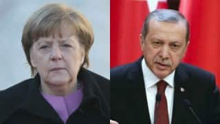 Angela Merkel admits 'error' in Recep Erdogan satire row