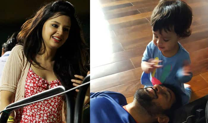 Sakshi Dhoni Posts An Adorable Picture Of Ziva Dhoni And