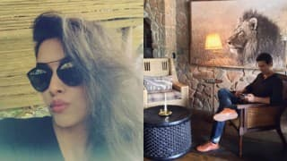 Awww! See how Asin is enjoying holidaying with hubby Rahul Sharma in Africa