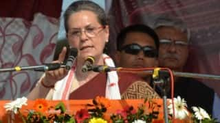 AgustaWestland a part of BJP's strategy of 'character assassination', says Sonia Gandhi