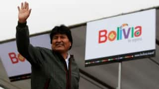 Bolivia president agrees to paternity test in scandal: media
