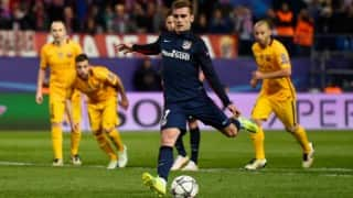 Champions League: Atletico Madrid's Antoine Griezmann double dumps Barcelona out of Europe