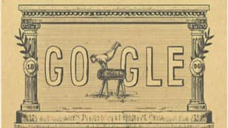 Google's 120th anniversary doodle recalls 1st modern Olympic Games