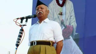 Mohan Bhagwat, Bhayyaji Joshi offer condolences to L K Advani on wife's death
