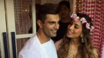 Bipasha Basu-Karan Singh Grover wedding: B'town couple speaks to media after Mehendi ceremony! (Video)