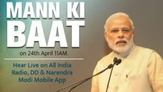 Live Streaming of Narendra Modi Mann Ki Baat: Listen to PM speech live on All India Radio at 11 am (IST)
