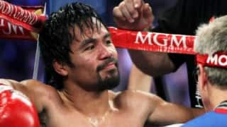Manny Pacquiao vows to sign off in style