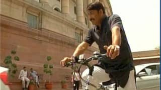 Odd Even effect: Cycle, horse the new modes of transport to India's 'temple of democracy'
