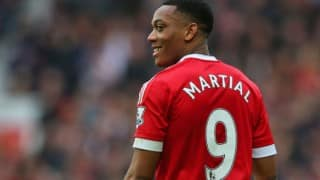 Anthony Martial scores late winner as Manchester United storm into FA Cup final, beat Everton 2-1