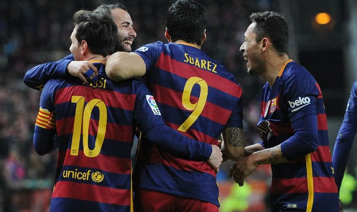Barcelona vs Valencia, Spanish La Liga 2015-16 Live Streaming: Watch