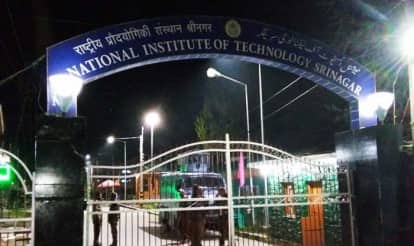 NIT students hold protest in Jammu for second day