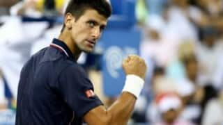 More rain gives suffering Novak Djokovic shelter