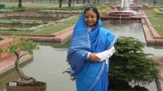 Ex-Prez Pratibha Patil for combat sports training to girls at young age