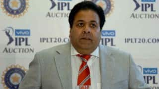 IPL Auction 2017: Chairman Rajeev Shukla to miss auction in Bengaluru