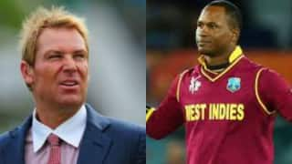 Marlon Samuels pokes fun at Shane Warne after winning Man-of-the-Match in World T20 2016 final