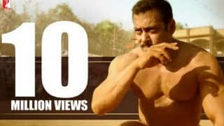 Salman Khan's Sultan teaser crosses 10 million views on YouTube! (Watch it here!)