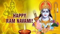 Rama Navami Wishes: Best Rama Navami SMS Messages, WhatsApp & Facebook Quotes to send Happy Rama Navami greetings!