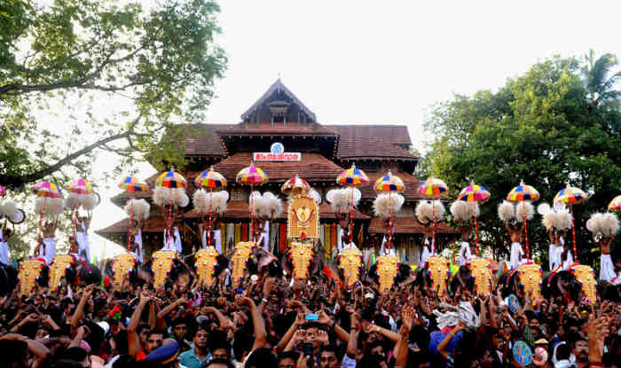 Thrissur India  city pictures gallery : Kerala: Thrissur Pooram ends without any incident India.com