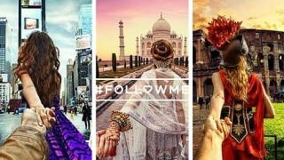 #FollowMeTo Couple Captures Dazzling Photos in Return to India