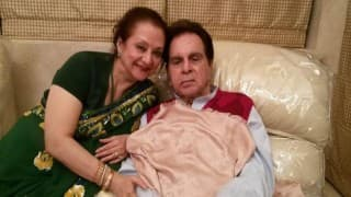 Dilip Kumar is stable, recovering well: Saira Banu