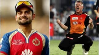 RCB beat SRH by 45 runs   Royal Challengers Bengaluru vs Sunrisers Hyderabad Cricket Live Score Updates, IPL 2016 match 3 RCB vs SRH